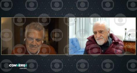 Ary Fontoura em bate-papo no Conversa com Bial