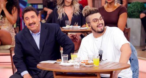 """Luan Santana é o convidado especial do """"Boteco do Ratinho"""" nesta quarta (10)"""