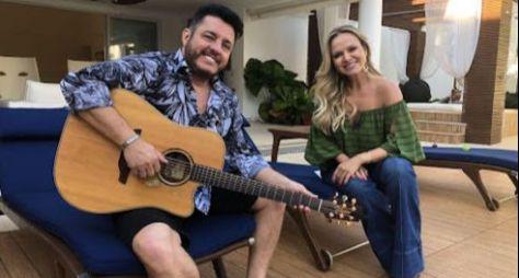 Eliana visita a casa de Bruno da dupla com Marrone neste domingo (14)