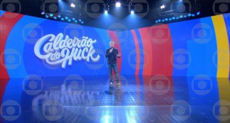 Caldeirão: Luciano Huck retoma gravações no estúdio