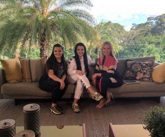 Eliana visita a mansão da dupla Maiara e Maraisa neste domingo (05)