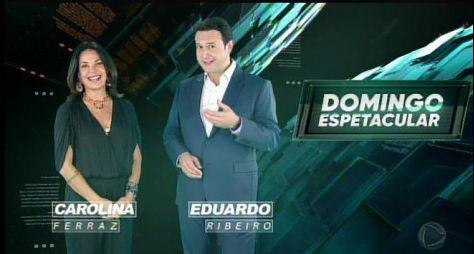 """""""Muito mais espetacular"""", diz Carolina Ferraz sobre sua estreia na Record TV"""
