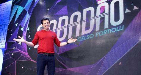 """SBT reduz tempo de arte do Raul Gil para reprisar """"Sabadão com Celso Portiolli"""""""