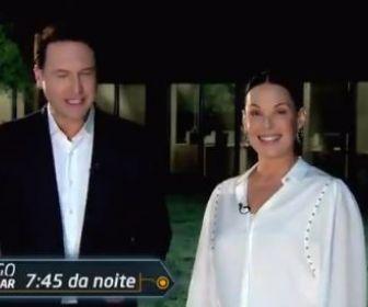 """""""Estou muito feliz de estar na Record TV"""", confirma Carolina Ferraz"""