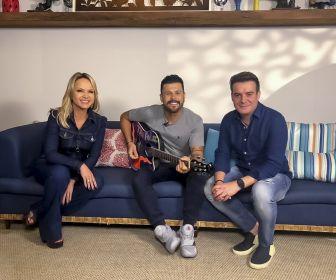 Programa Eliana mostra a intimidade da dupla Marcos & Belutti neste domingo (12)