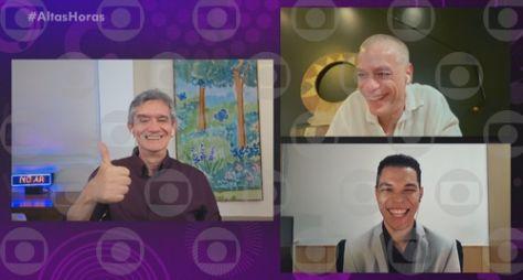 Serginho Groisman entrevista Anitta, Renata Vasconcellos e Fábio Assunção