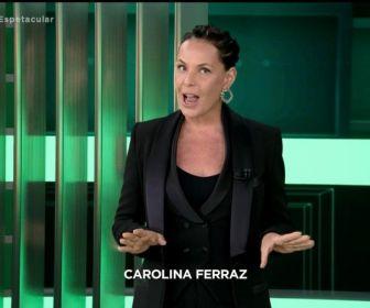 """Com estreia de Carolina Ferraz, """"Domingo Ferraz"""" mantém o terceiro lugar"""