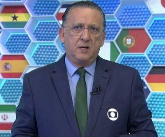 Futebol 2020: Galvão Bueno será poupado durante o período de quarentena