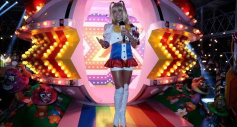 Patricia Abravanel interpreta Xuxa no 'Máquina da Fama' deste sábado