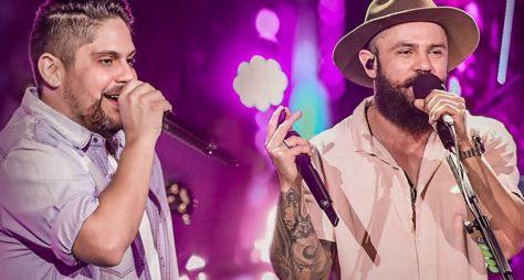 """""""Música na Band"""" exibe show ao vivo da dupla Jorge e Mateus nesta sexta-feira"""