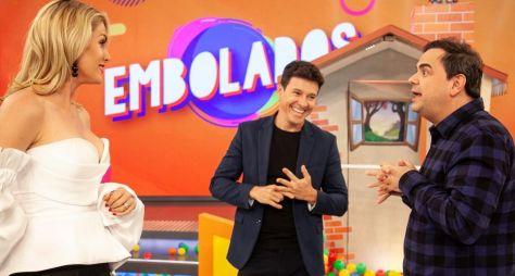 """Ana Hickmann e Carioca encaram desafios no """"Hora do Faro"""""""