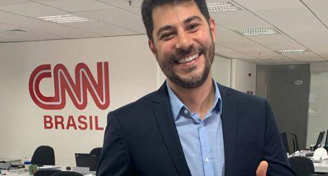 """CNN estreia reality """"Vivendo Como Você"""" em programa de Evaristo Costa"""