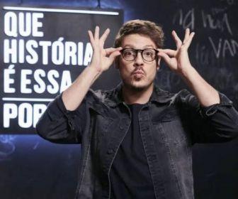 """Globo vai exibir a primeira temporada do """"Que História é Essa, Porchat?"""""""