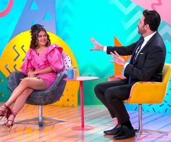Maisa recebe pela primeira vez em seu programa Danilo Gentili neste sábado (08)