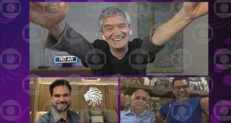 William Bonner, Emicida e a dupla Zezé Di Camargo&Luciano no Altas Horas