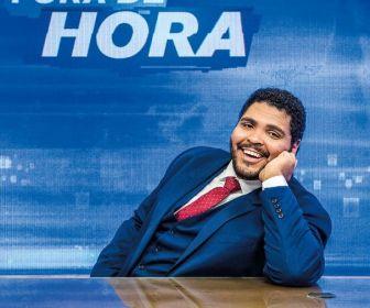 Paulo Vieira está em alta e pode ganhar programa solo no Grupo Globo