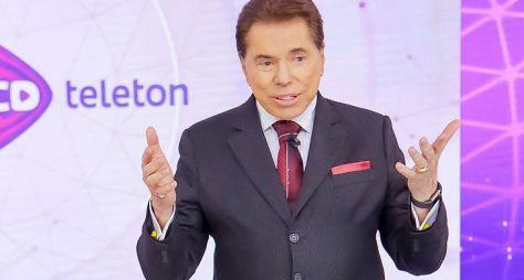 SBT quer realizar o Teleton neste ano e Silvio Santos deve ficar de fora