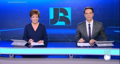 Jornal da Record garantiu a vice-liderança isolada em SP e no RJ