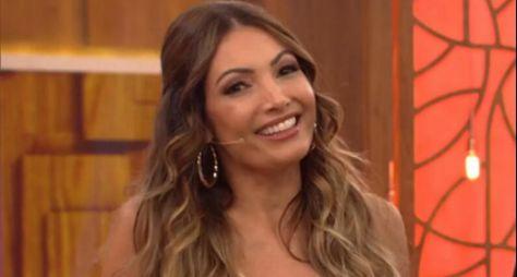 Patricia Poeta renova seu contrato com TV Globo