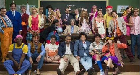As prevenções do Canal VIVA na gravação do especial da Escolinha