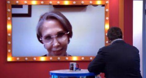 Ratinho entrevista Florinda Meza, a Dona Florinda do seriado Chaves