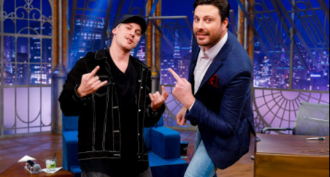 The Noite, do SBT, registra o triplo da terceira colocada, a Record TV