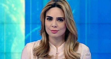 A jornalista Rachel Sheherazade está com os dias contados no SBT