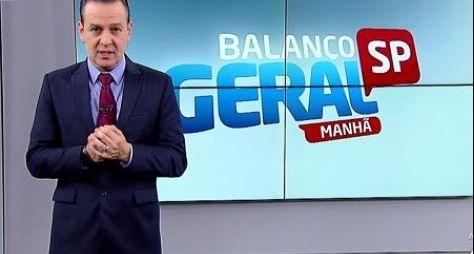"""Celso Zucatelli será substituído no """"Balanço Geral Manhã"""""""