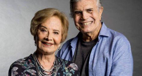 Chegou ao fim o contrato de Glória Menezes e Tarcísio Meira com a TVGlobo