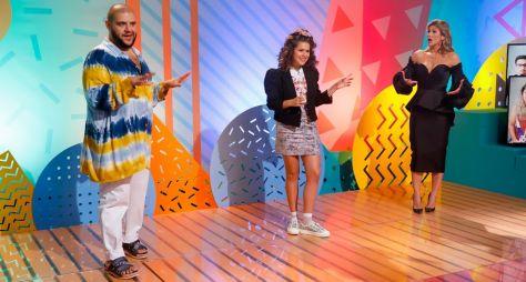 Matheus Ceará, Wesley Safadão e Lívia Andrade participam do Programa da Maisa