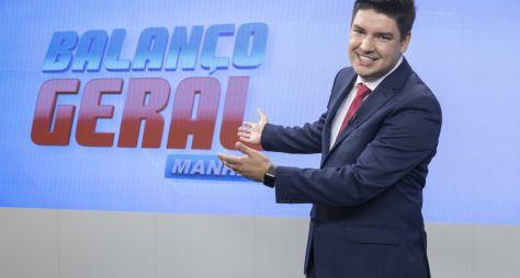 No Balanço Geral Manhã, Record TV troca Zucatelli por Bruno Peruka