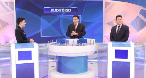 Dudu Camargo e Marcão do Povo participam do 'Programa Silvio Santos'