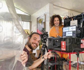 Fabiula Nascimento e Emilio Dantas falam sobre a experiência de gravarem juntos