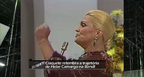 Band fará especial em homenagem à Hebe Camargo