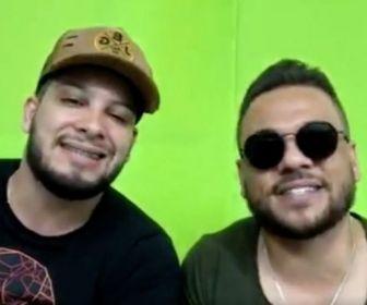 Dupla sertaneja João Bosco e Gabriel participa do 'Ritmo Brasil' deste sábado