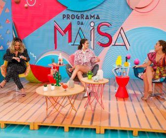 Eliana e Wanessa Camargo são as convidadas do Programa da Maisa