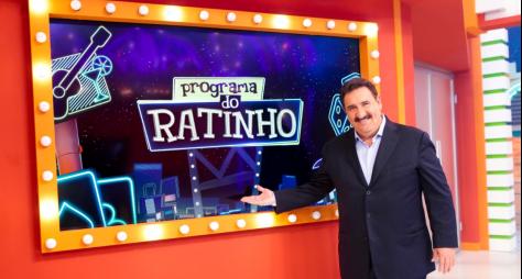 """Celso Portiolli e Joelma participam do """"Jogo dos 9"""" no Programa do Ratinho"""