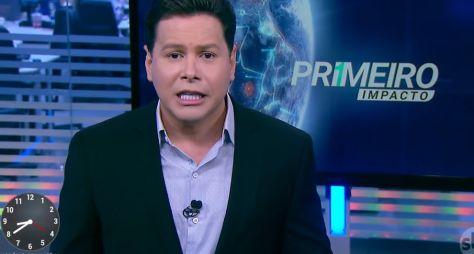 """Silvio Santos despede Marcão do Povo do """"Primeiro Impacto"""""""