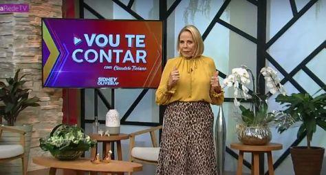 """Estreia do """"Vou te contar"""", com Claudete Troiano, empata com a TV Gazeta"""
