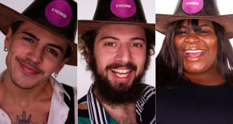 A Fazenda 12: Biel, Cartolouco e Jojo Todynho formam o trio da Roça