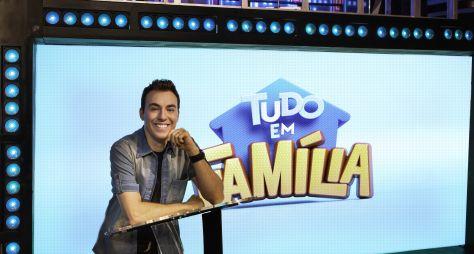 """Game show """"Tudo em Família"""" volta à programação da TV Aparecida"""