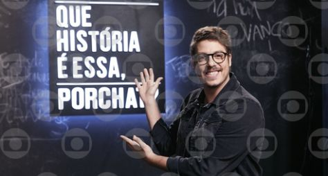 'Que História É Essa, Porchat?' estreia nesta quinta-feira na TV Globo