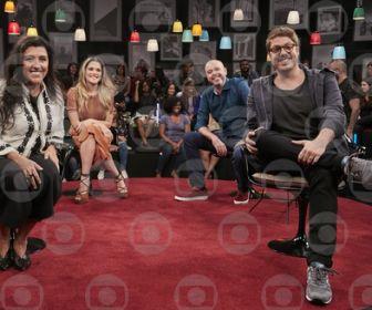 Porchat se diverte com as histórias de Casé, Ingrid Guimarães e Alex Escobar