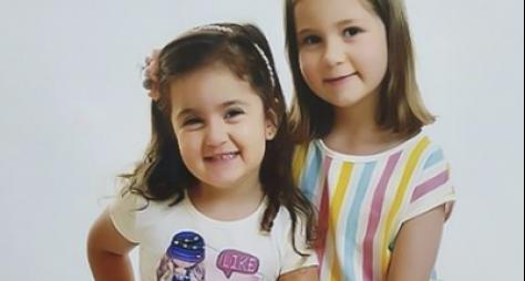 """""""Domingo Legal"""" recebe com exclusividade irmãs do vídeo de aniversário que bombo"""