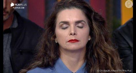 "Luiza Ambiel abonadona auditório do ""Hora do Faro"""