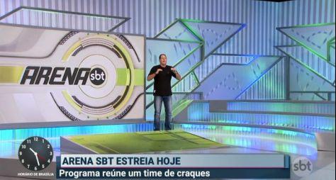 """Estreia do Arena SBT faz um """"estrago"""" no The Noite com Danilo Gentili"""