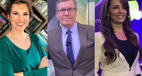 Márcio Gomes, Gloria Vanique e Carla Vilhena estreiam em novembro na CNN