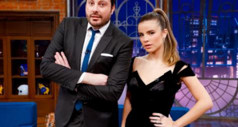 Giulia Be é a convidada de Danilo Gentili no The Noite