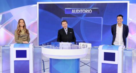 """Solange Almeida e Leo Dias são os convidados do """"Programa Silvio Santos"""""""
