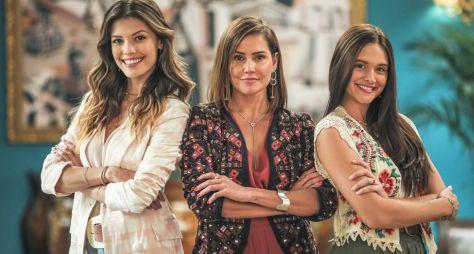 """Vitória Strada, Deborah Secco e Juliana Paiva gravam cenas finais de """"Salve-se"""""""